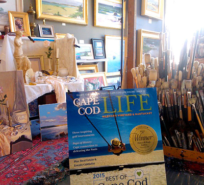 Osborn & Rugh Gallery is the winner of the 2015 gold Cape Cod Life Reader's Choice medal for Best Fine Arts Gallery on the Upper Cape.